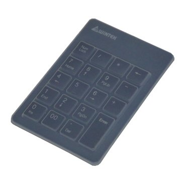 WINTEK 文鎧TK90小天使數字鍵盤(黑)(附防塵膜)/USB