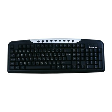 WINTEK 文鎧 WK950U多媒體鍵盤/USB(黑)(福利品出清)