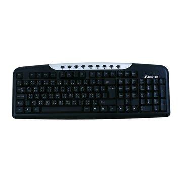 WINTEK 文鎧WK950U多媒體鍵盤/USB(黑)