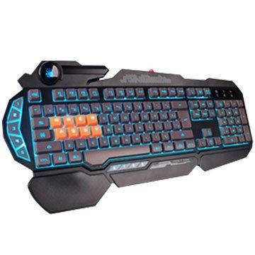 A4 B318 BLOODY八機械光軸鍵盤(黑)