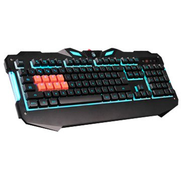 A4 B328 BLOODY八機械光軸鍵盤(黑)