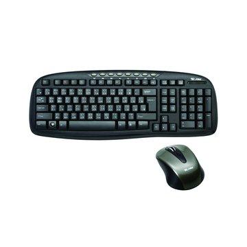 T.C.STAR 連鈺 黑/TCK650U/多媒體鍵盤/USB(福利品出清)
