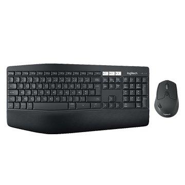 Logitech MK850多工無線鍵盤滑鼠組/USB(黑)