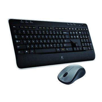 Logitech 羅技MK520r無線鍵鼠組/USB(黑)