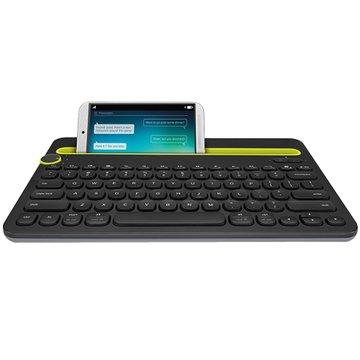 Logitech 羅技K480藍芽多功鍵盤(黑)(福利品出清)