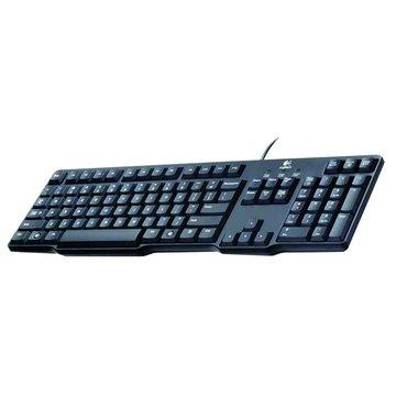 Logitech K100經典鍵盤/PS2(黑)