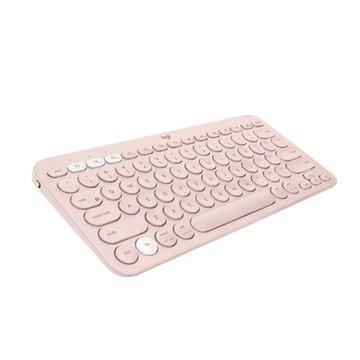 Logitech K380多工藍芽鍵盤(玫瑰粉)
