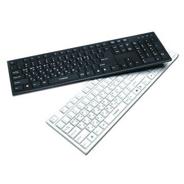 i-rocks 艾芮克 KR-6431巧克力鍵盤/USB(白)(福利品出清)