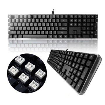 i-rocks 艾芮克IK6-BK 水晶鍵盤/USB(黑)(福利品出清)