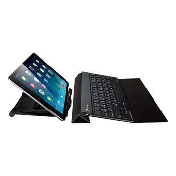 i-rocks 艾芮克 IRK36B超薄無線攜帶型藍牙鍵盤(黑)(福利品出清)