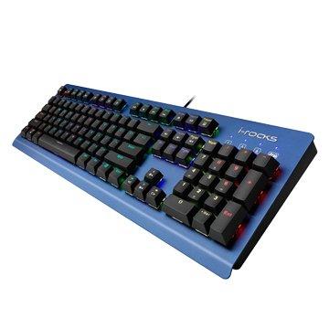 i-rocks 艾芮克IRK65M 凱華青軸RGB多彩背光機械鍵盤