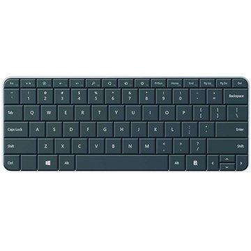 Microsoft 微軟 wedge無線藍牙楔型鍵盤(黑)(福利品出清)