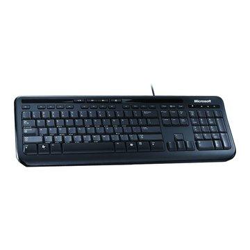 Microsoft 微軟600標準鍵盤/USB(黑)