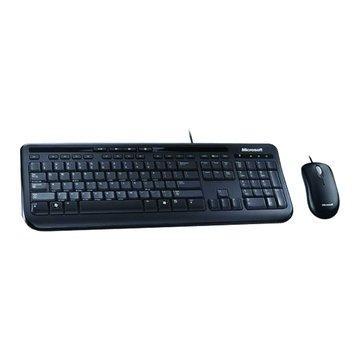 Microsoft 微軟600標準鍵鼠組/USB(黑)