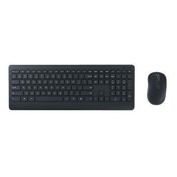 Microsoft 微軟900無線鍵鼠組/USB(黑)