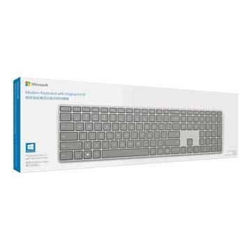 Microsoft 微軟 指紋識別時尚藍芽鍵盤
