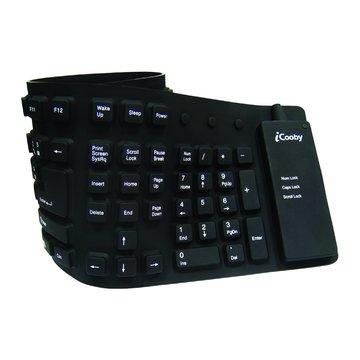 iCooby KB-602軟式鍵盤/USB(黑)(福利品出清)