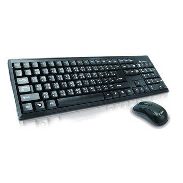 iCooby 黑/KB608MU鍵鼠組/USB(福利品出清)