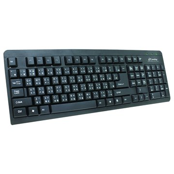 iCooby KB618高質感鍵盤/USB(黑)(福利品出清)