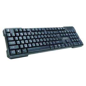 iCooby KB638高質感造型鍵盤/USB(黑)(福利品出清)