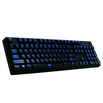 Thermaltake 曜越波塞頓Z(青軸)全背光機械式鍵盤/USB(黑)(福利品出清)
