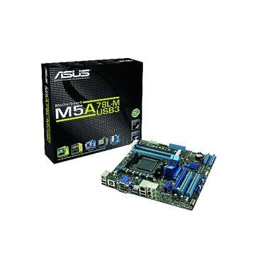 ASUS 華碩M5A78L-M/USB3/AM3+ 主機板