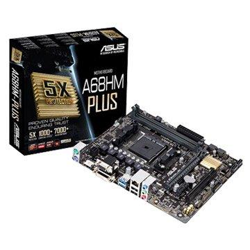 ASUS 華碩A68HM-PLUS/FM2+/A68 主機板