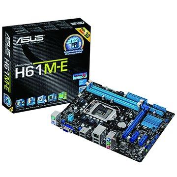 ASUS 華碩 H61M-E/1155/H61 主機板