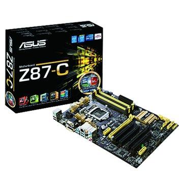 ASUS 華碩 Z87-C/1150/Z87 主機板