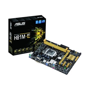 ASUS 華碩H81M-E/1150/H81 主機板
