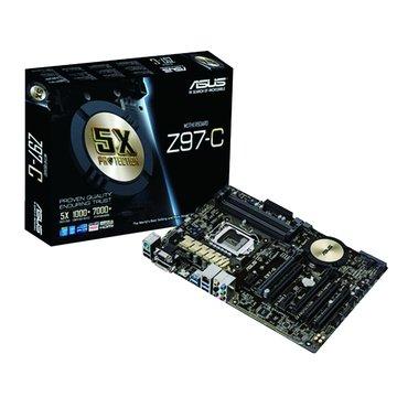 ASUS 華碩 Z97-C/1150/Z97 主機板
