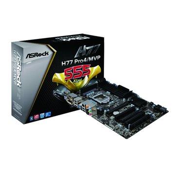 ASROCK 華擎 H77 Pro4/MVP/H77 主機板