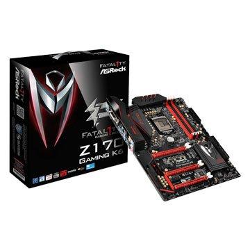 ASROCK 華擎 Z170 Gaming K6 / 1151 / ATX 主機板