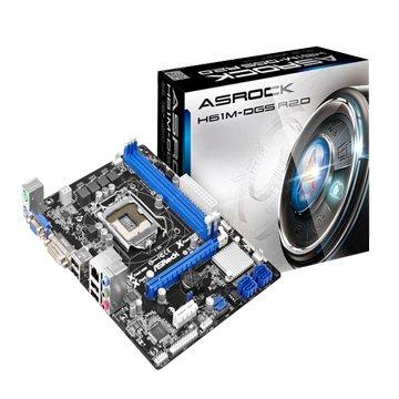 ASROCK 華擎H61M--DGS R2.0 INTEL H61 LGA