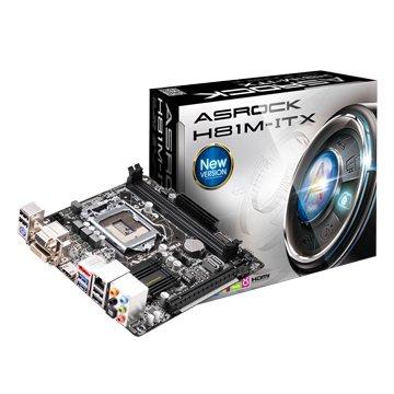 ASROCK 華擎 H81M-ITX INTEL H81 LGA1150 m