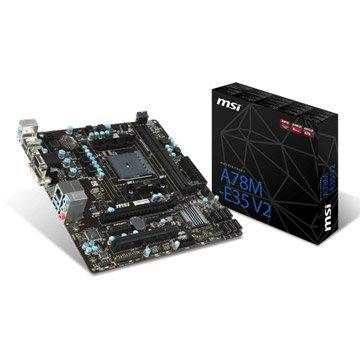 MSI 微星A78M-E35 V2/FM2+/A78 主機板