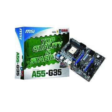 MSI 微星 A55-G35/A55 主機板