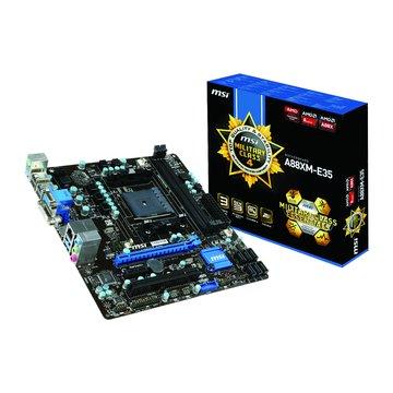 MSI 微星 A88XM-E35/FM2+/A88X 主機板
