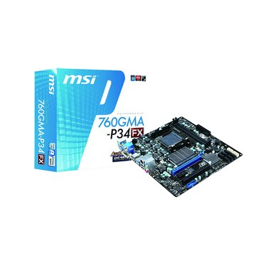 MSI 微星 760GMA-P34/AM3+/AMD760 主機板
