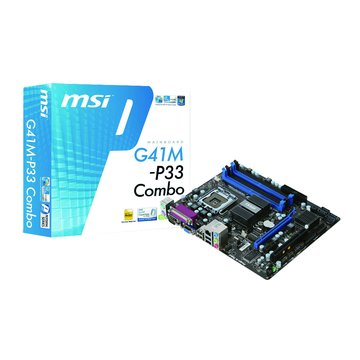 MSI 微星 G41M-P33 Combo/G41 主機板