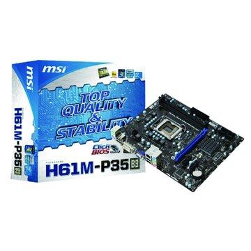 MSI 微星 H61M-P35(B3)/H61 主機板