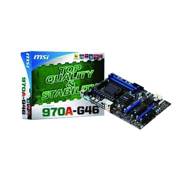 MSI 微星 970A-G46/AMD970 主機板