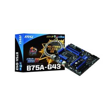 MSI 微星 B75A-G43/B75 主機板