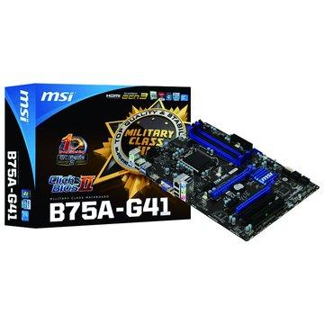 MSI 微星 B75A-G41/B75 主機板