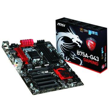 MSI 微星 B75A-G43 GAMING/B75 主機板