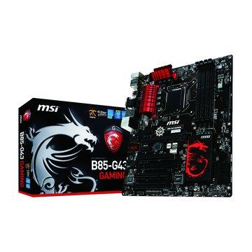 MSI 微星 B85-G43 GAMING/B85/1150 主機板