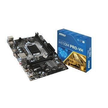 MSI 微星H110M PRO-VH /Intel/1151 主機板