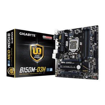 GIGABYTE 技嘉B150M-D3H/DDR4 /1151 主機板