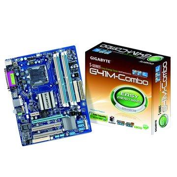 GIGABYTE 技嘉 G41M-COMBO/G41/DDR2+DDR3 主機板