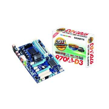 GIGABYTE 技嘉 970A-D3/AMD970 主機板